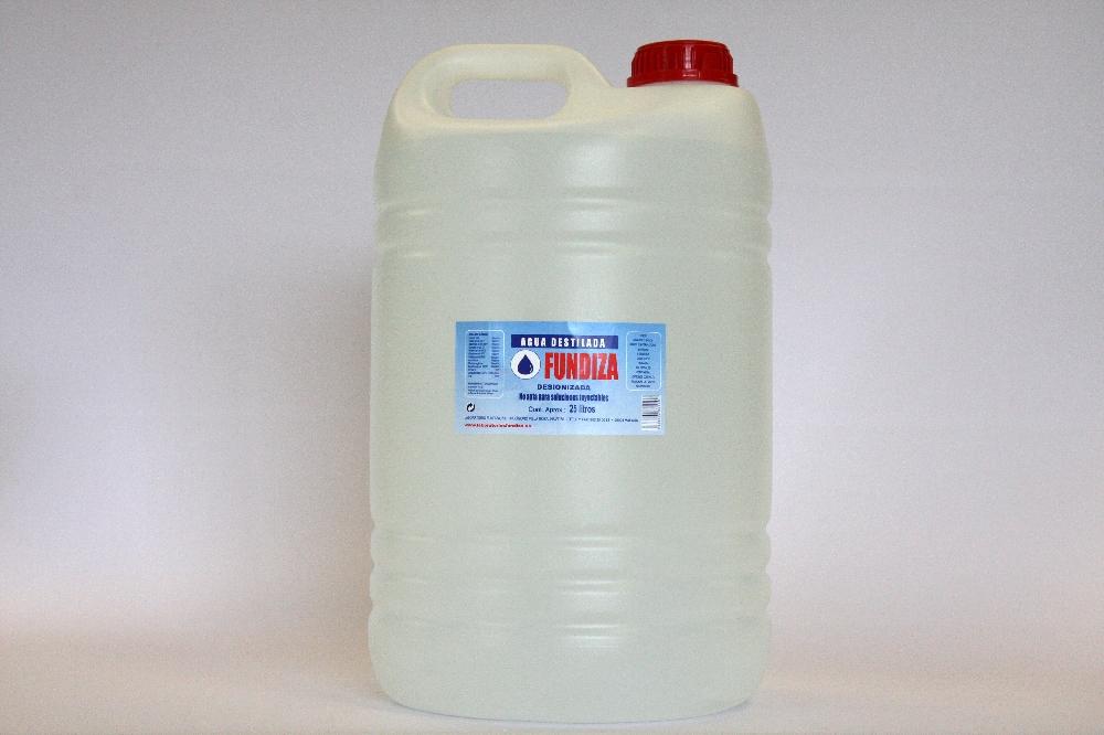 Agua destilada 25 litros